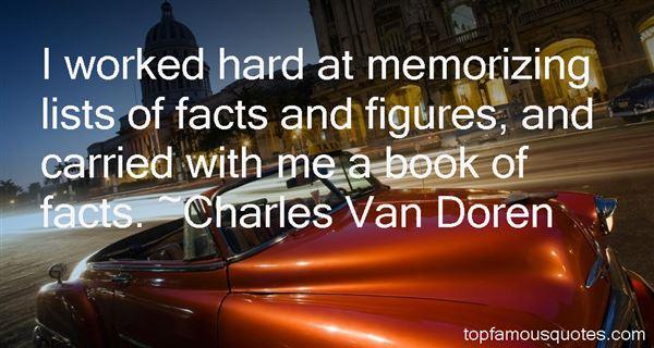 Charles Van Doren Quotes