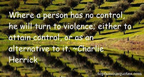 Charlie Herrick Quotes