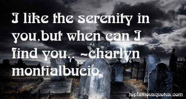 Charlyn Montialbucio Quotes