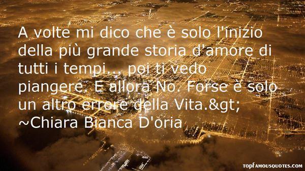 Chiara Bianca D'oria Quotes