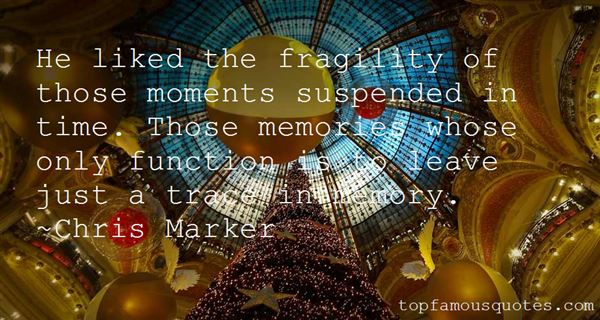 Chris Marker Quotes