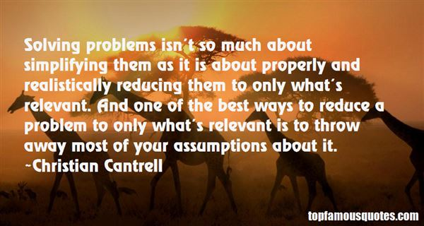 Christian Cantrell Quotes