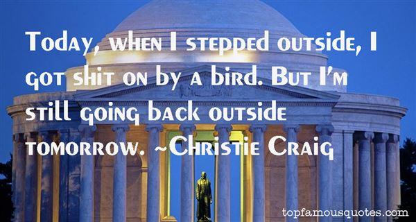Christie Craig Quotes
