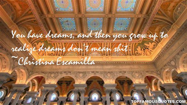 Christina Escamilla Quotes