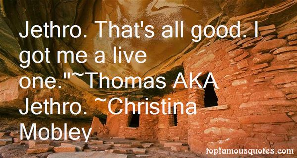 Christina Mobley Quotes