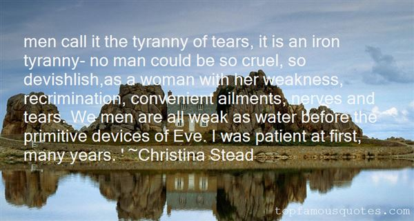 Christina Stead Quotes