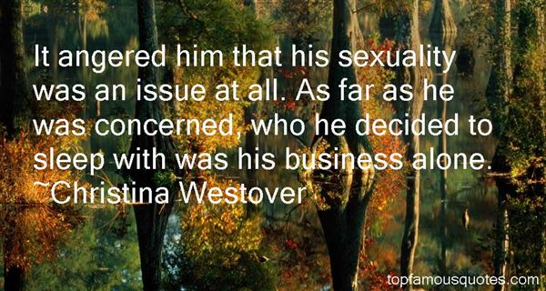 Christina Westover Quotes