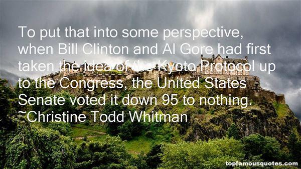 Christine Todd Whitman Quotes