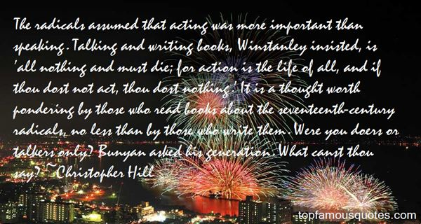 Christopher Hill Quotes
