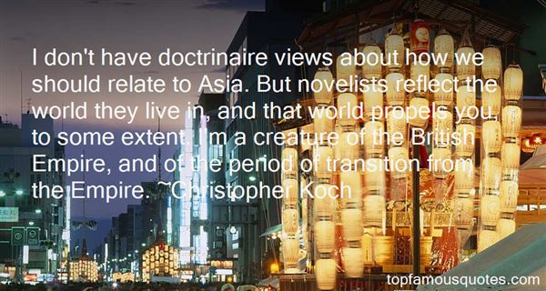 Christopher Koch Quotes
