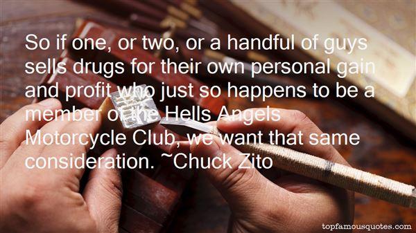 Chuck Zito Quotes