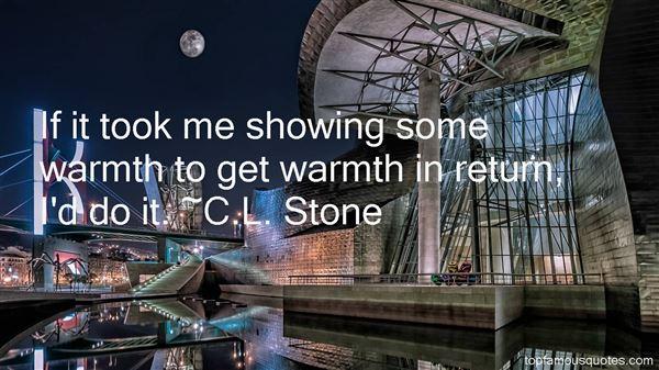C.L. Stone Quotes
