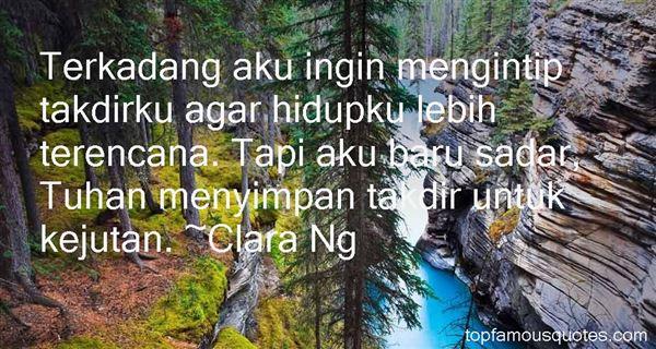 Clara Ng Quotes