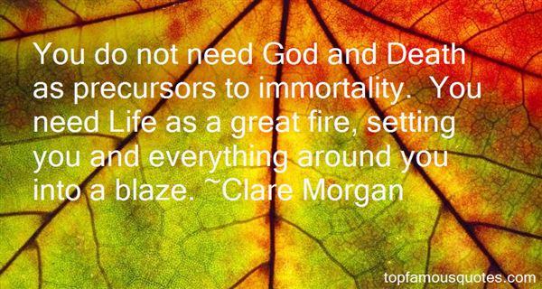 Clare Morgan Quotes