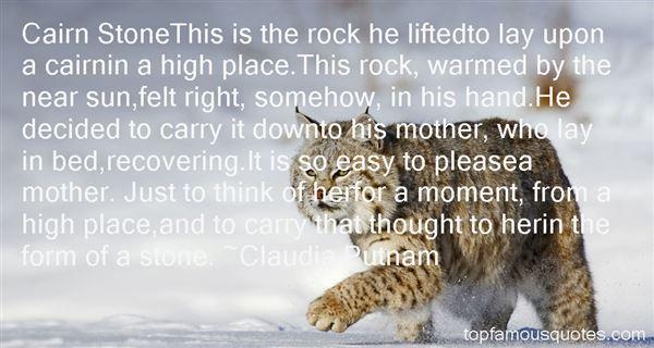 Claudia Putnam Quotes