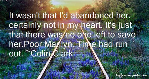Colin Clark Quotes
