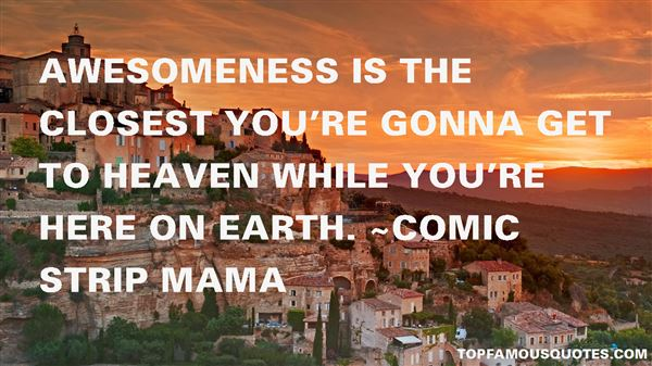 Comic Strip Mama Quotes