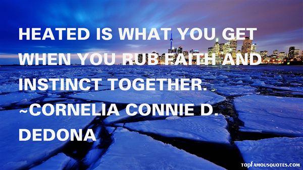 Cornelia Connie D. DeDona Quotes