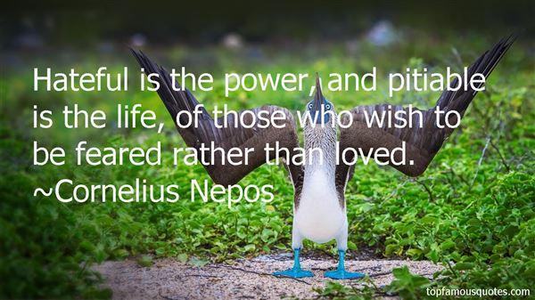 Cornelius Nepos Quotes