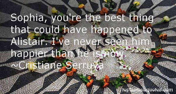 Cristiane Serruya Quotes