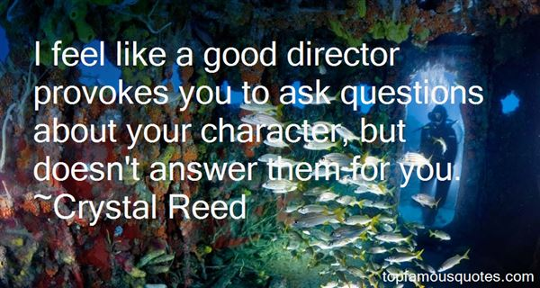 Crystal Reed Quotes