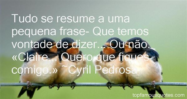 Cyril Pedrosa Quotes