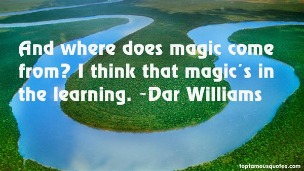 Dar Williams Quotes