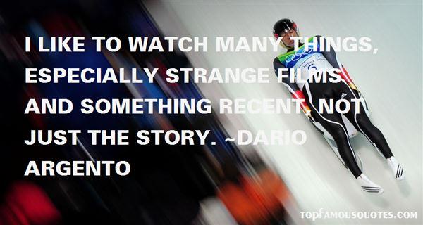 Dario Argento Quotes