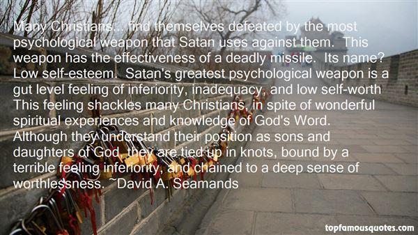 David A. Seamands Quotes