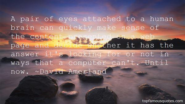 David Amerland Quotes