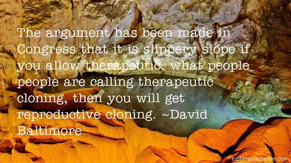 David Baltimore Quotes