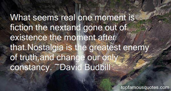 David Budbill Quotes