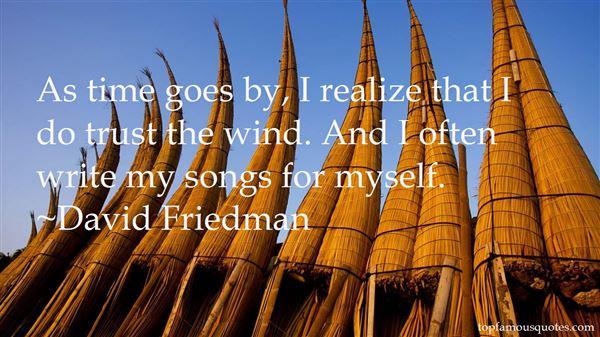 David Friedman Quotes