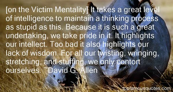 David G. Allen Quotes