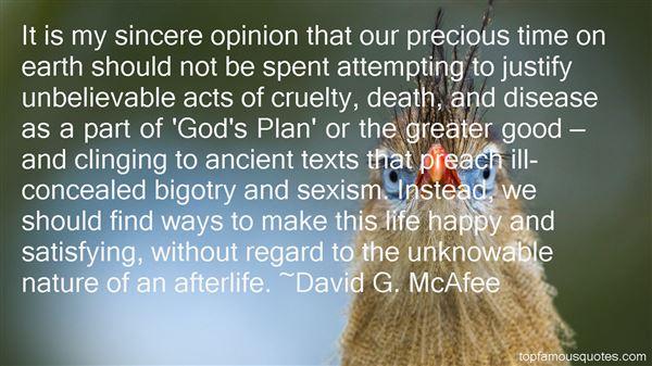 David G. McAfee Quotes