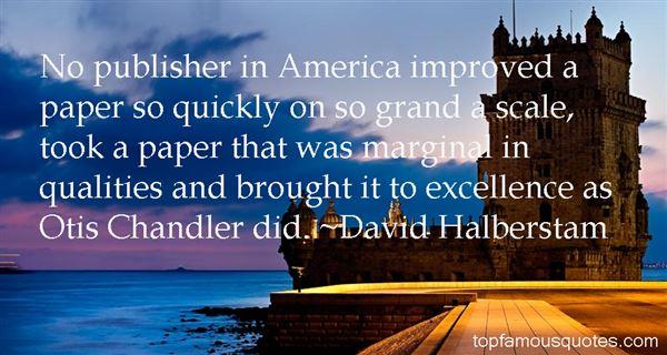 David Halberstam Quotes