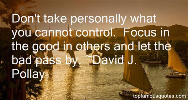 David J. Pollay Quotes
