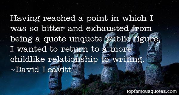 David Leavitt Quotes