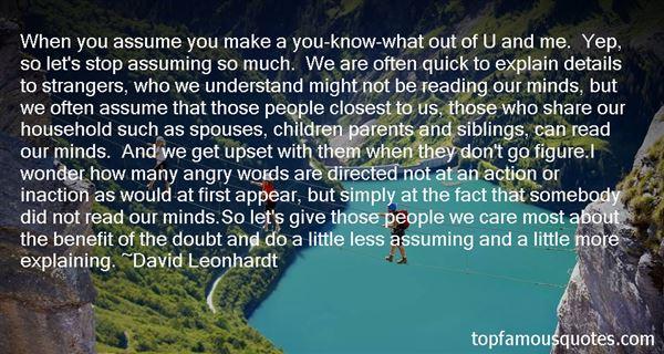 David Leonhardt Quotes