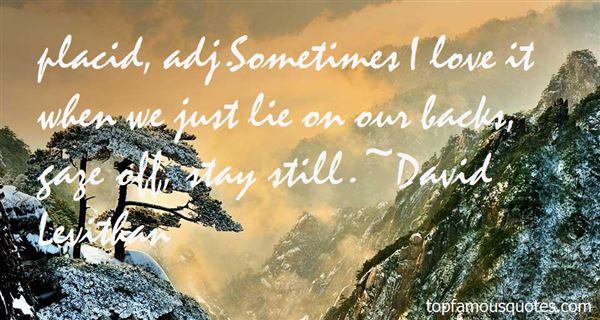 David Levithan Quotes