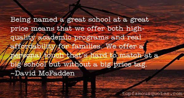 David McFadden Quotes