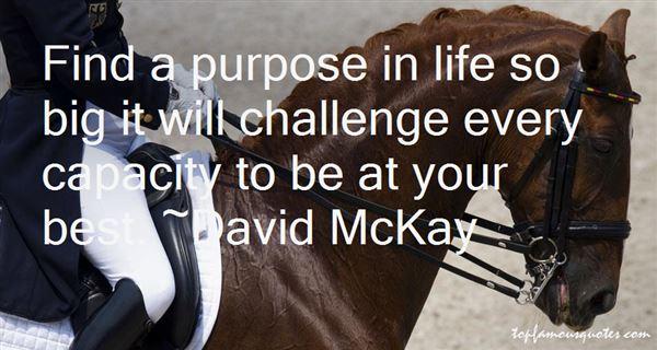 David McKay Quotes