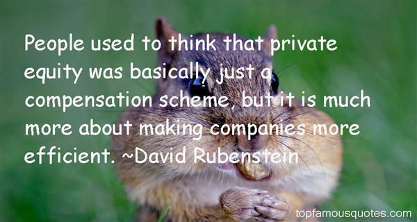 David Rubenstein Quotes