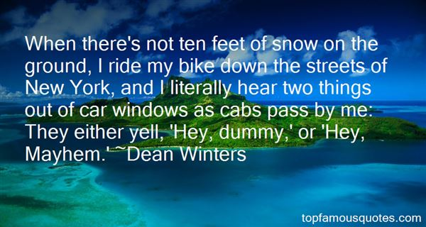 Dean Winters Quotes