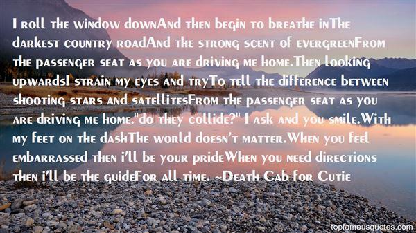 Death Cab For Cutie Quotes