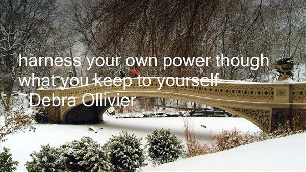 Debra Ollivier Quotes