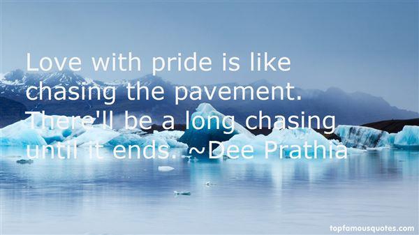 Dee Prathia Quotes