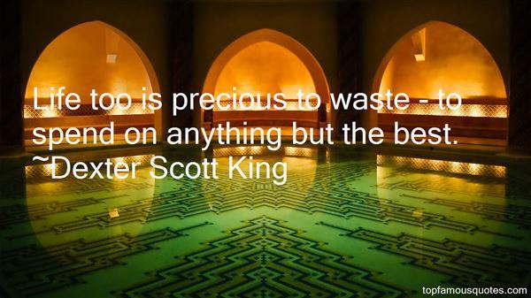 Dexter Scott King Quotes
