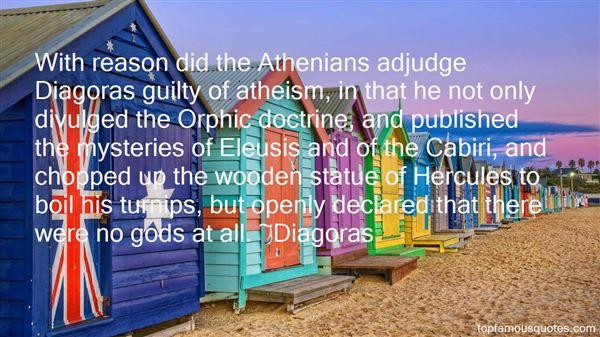 Diagoras Quotes