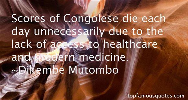 Dikembe Mutombo Quotes